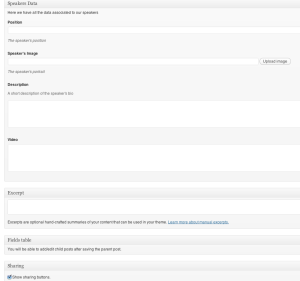 Custom Post type WordPress